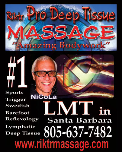 The Massage Knot Assassin of Santa Barbara, Goleta