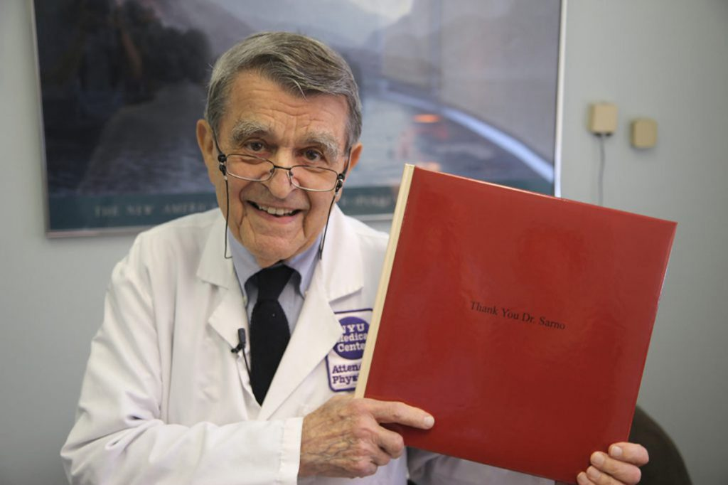 John E. Sarno, a doctor at New York University whose controversial books on the psychological origins of chronic pain sold over a million copies, even while he was largely ignored or maligned by many of his medical peers