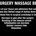 Post-Operative Surgical Massage, Santa Barbara, Goleta