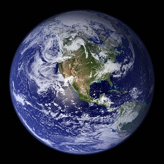 This image has an empty alt attribute; its file name is earth-from-space-western.jpg